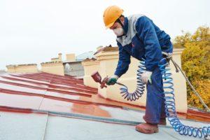 prix peinture de toiture Mimet